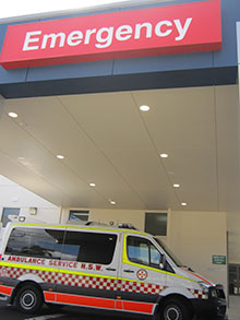Emergency Department Ambulance